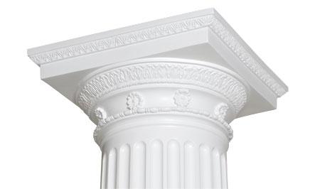 Endura stone roman doric ornamental decorative capital for Pacific columns endura stone